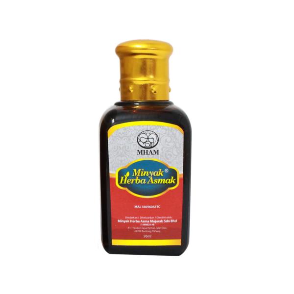 Minyak Herba Asmak Mujarab Original 50ML